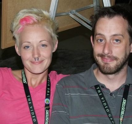 Geoff Ramsey with Griffon Ramsey