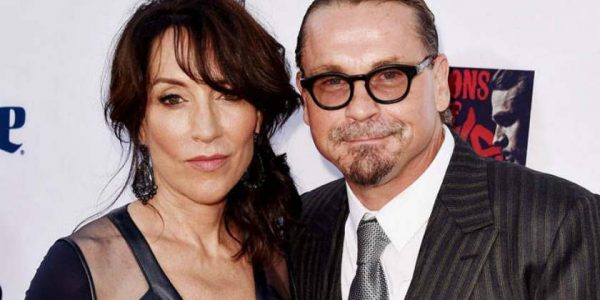 Katey Sagal with her husband, Kurt Sutter