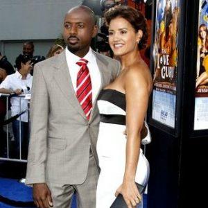 Taryn Dakha with her Ex-husband, Romany Malco