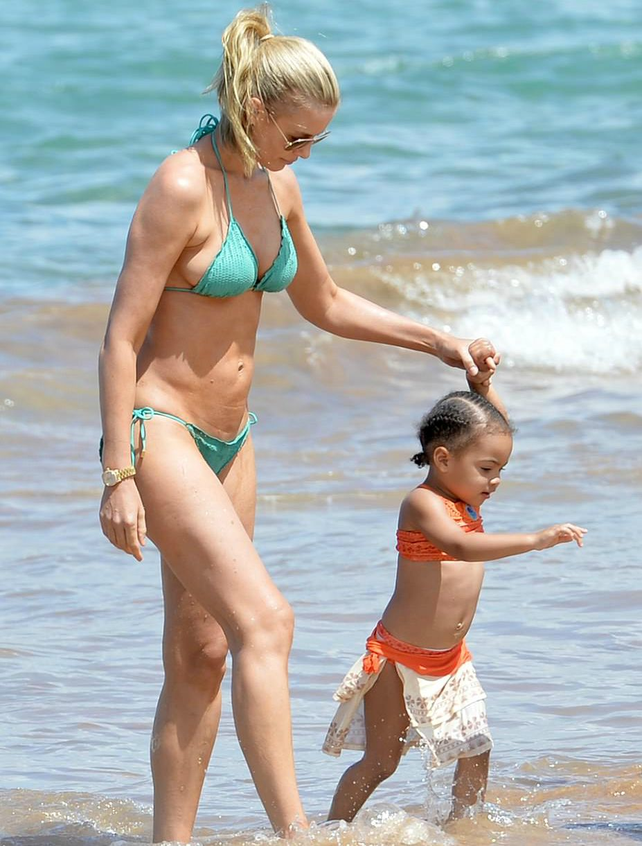 Paige Butcher with her daughter