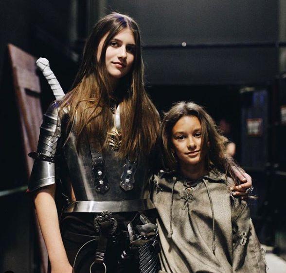 Ashlyn Casalegno with her co-actor
