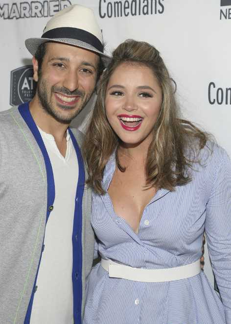 Desmin Borges with his co-actor