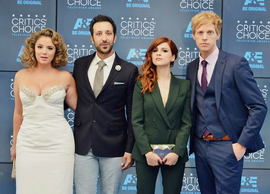 Desmin Borges with his co-actors
