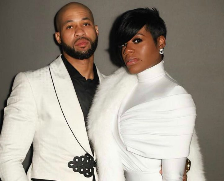 Kendall Taylor with his wife, Fanstasia Barrino