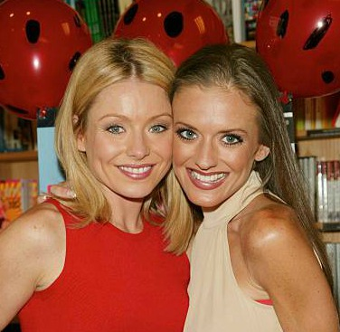 Linda Ripa with her sister, Kelly Ripa