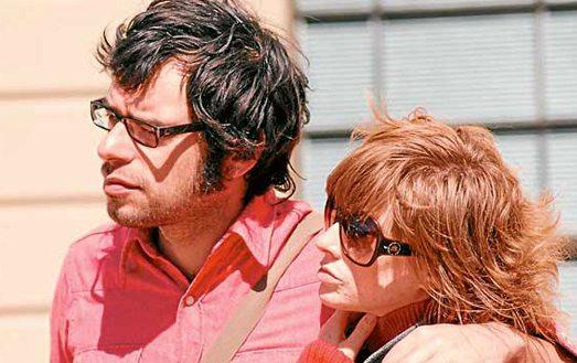 Miranda Manasiadis with her husband, Jemaine Clement