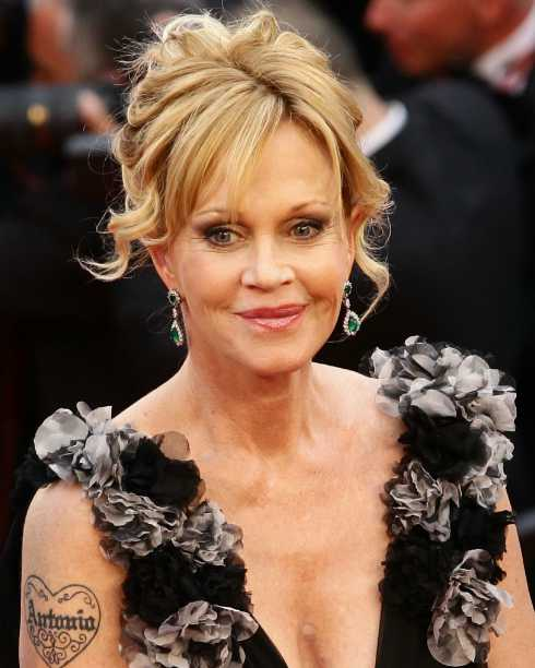 Stella Banderas's mother, Melanie Griffith