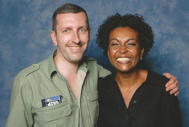Adjoa Andoh with her co-actor