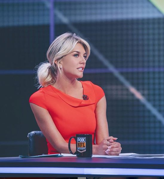 Charissa Thompson hosting a sport show