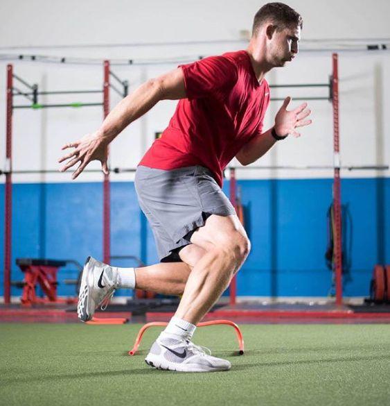 Jeff Driskel photo of his training