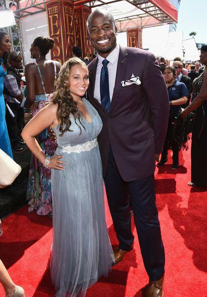 Chrystal Gbaja-Biamila with her husband
