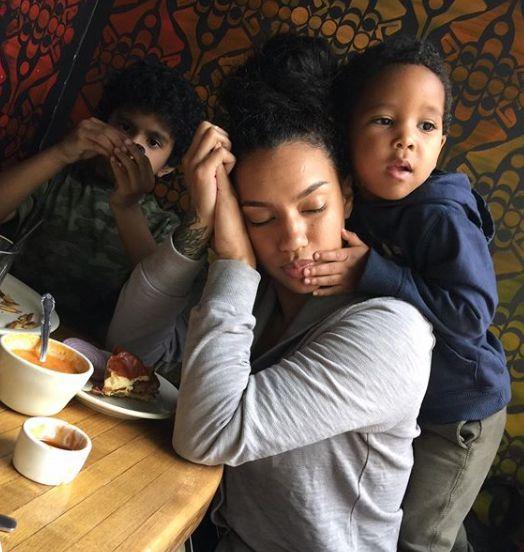 Ryan Henry's ex-girlfriend Rachel Leigh with her kids