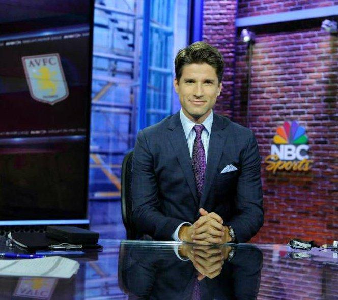 Kyle Martino hosting show NBC Sports coverage