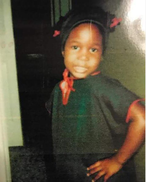 India Arie's childhood picture