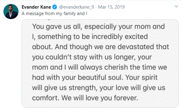Left Winger Evander Kane