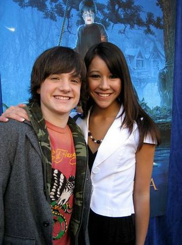 Josh Hutcherson with his ex-girlfriend Shannon Marie Wada