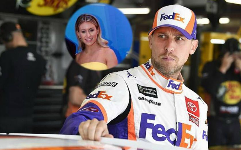 Who is American Stock Car Racing Driver Denny Hamlin Wife? Father of Two Daughter with his Girlfriend