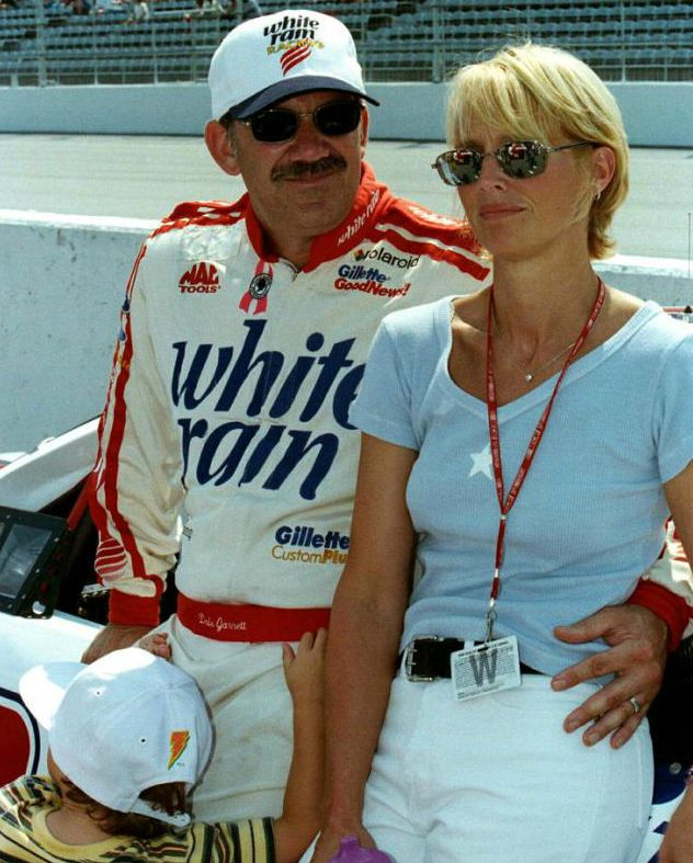 Dale Jarrett with his ex-wife