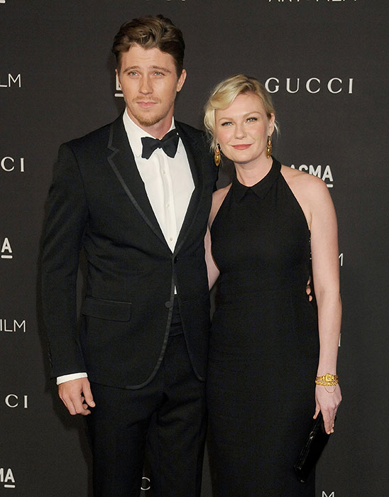 Garrett Hedlund with his ex-girlfriend Kirsten Dunst