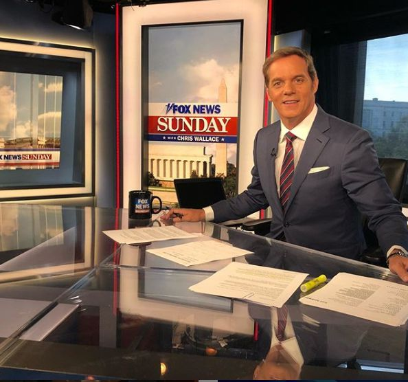 Bill Hemmer doing reporting