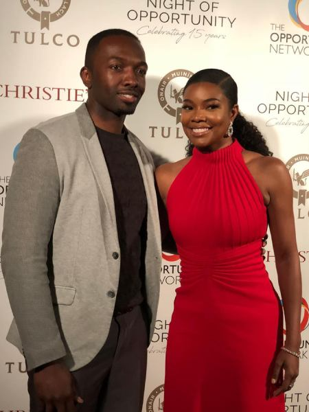 Jamie Hector with his co-actor