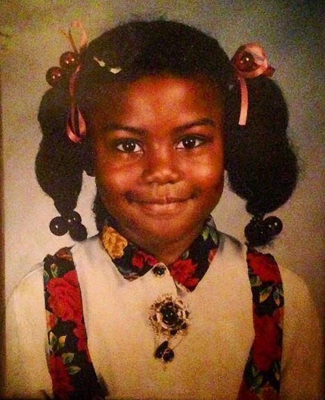 Janai Norman's childhood picture