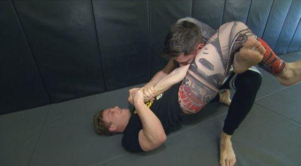 Jonathan Lipnicki's training photo with his co-partner