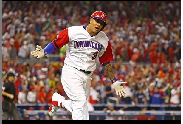 Manny Machado playing for his national team