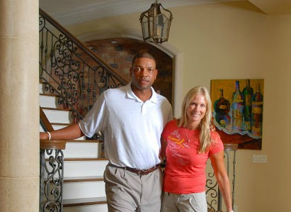 Doc Rivers with his wife Kris