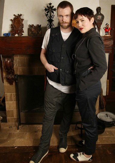 Marieangela King with her husband, Elijah Allman
