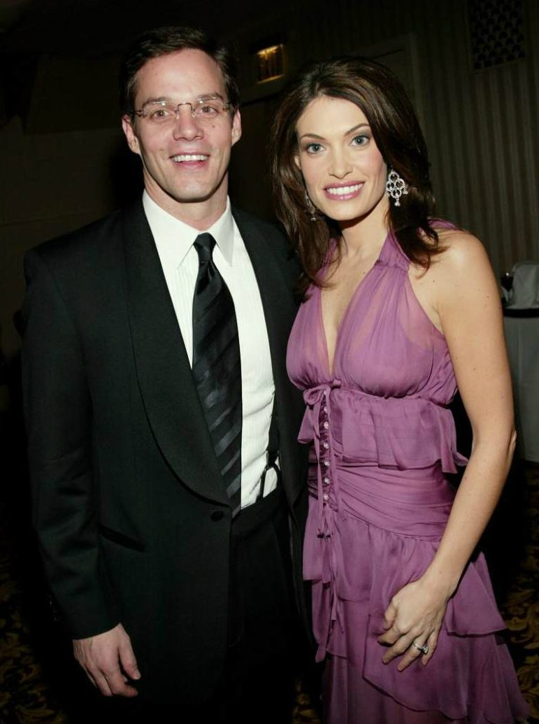 Bill Hemmer with his ex-girlfriend Dara Tomanovich