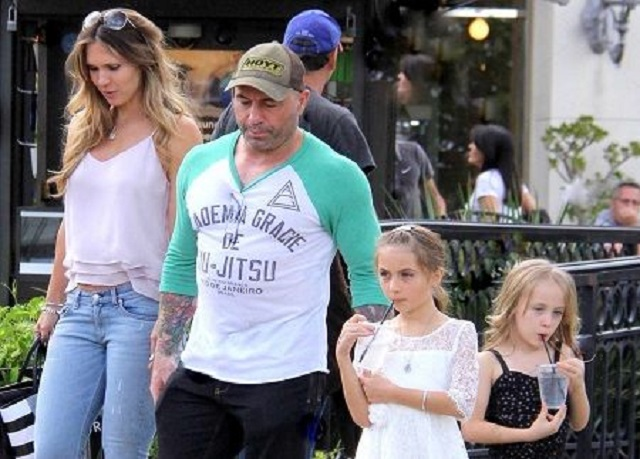 Jessica Ditzel with her husband and daughters