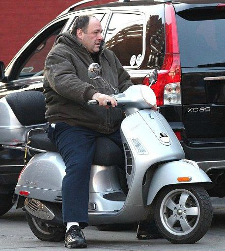 Marcy Wudarski's late ex-husband riding scooter