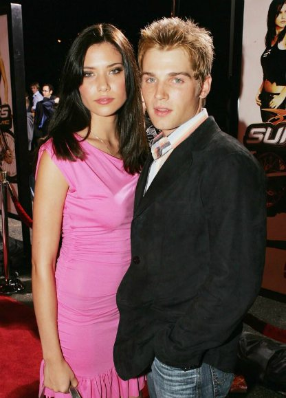 Courtney Vogel with her husband, Mike Vogel