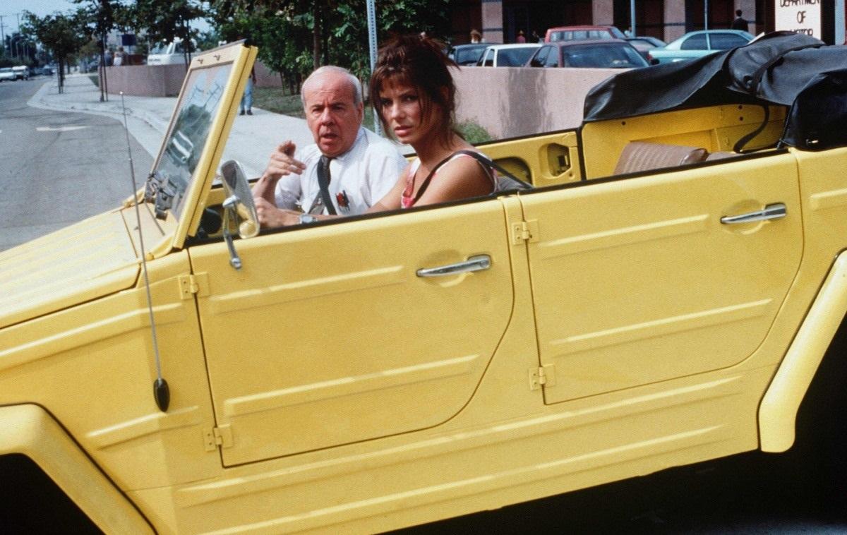 Charlene Conway's late husband sitting in car