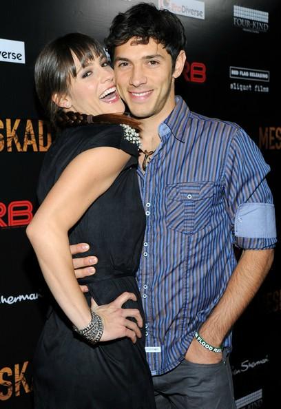 Michael Rady with his wife Rachael Kemery
