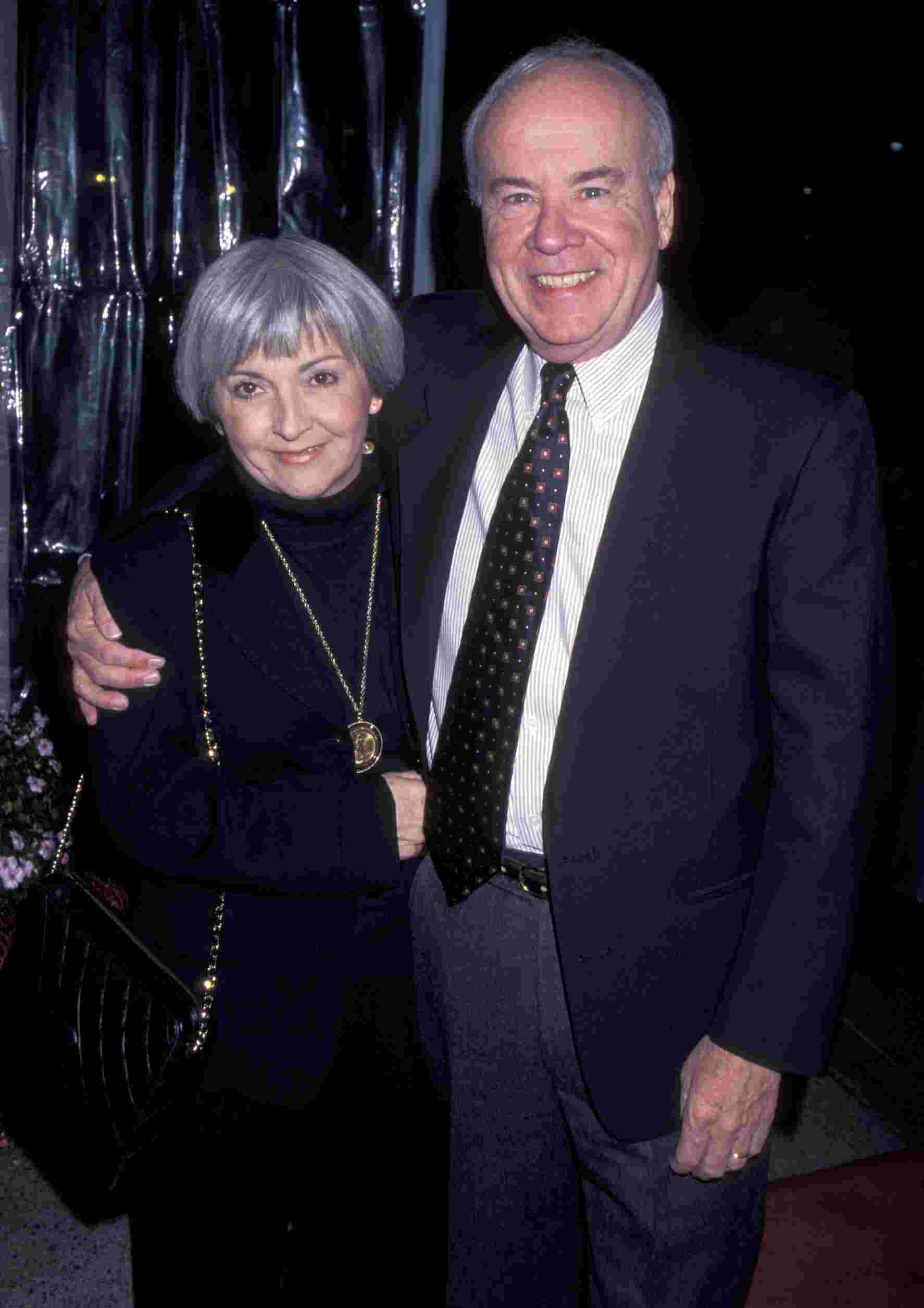 Charlene Conway with her late husband Tim
