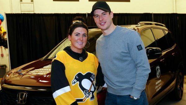 Sidney Crosby gifted a car