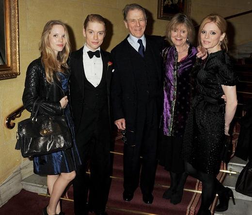 Freddie Fox's Family