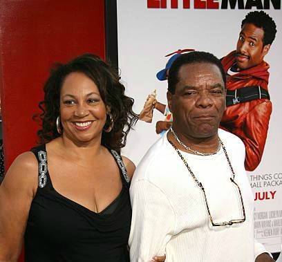 Angela Robinson-Witherspoon with her late husband John