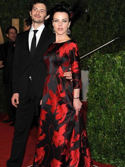 Debi Mazar with her husband Gabriele Corcos