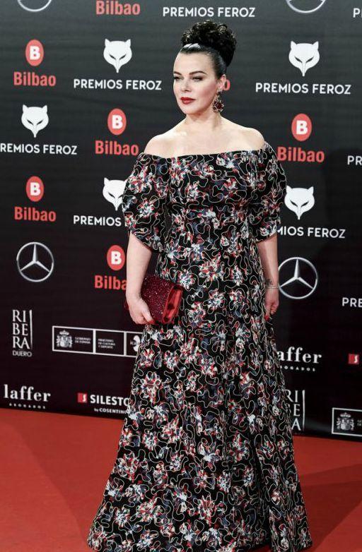 Debi Mazar in Zac Posen at the 2019 Feroz Awards