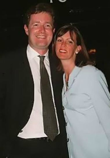 Marion Shalloe with his ex-husband Piers Morgan