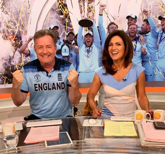 Marion Shalloe ex-husband Piers Morgan is celebrating in show