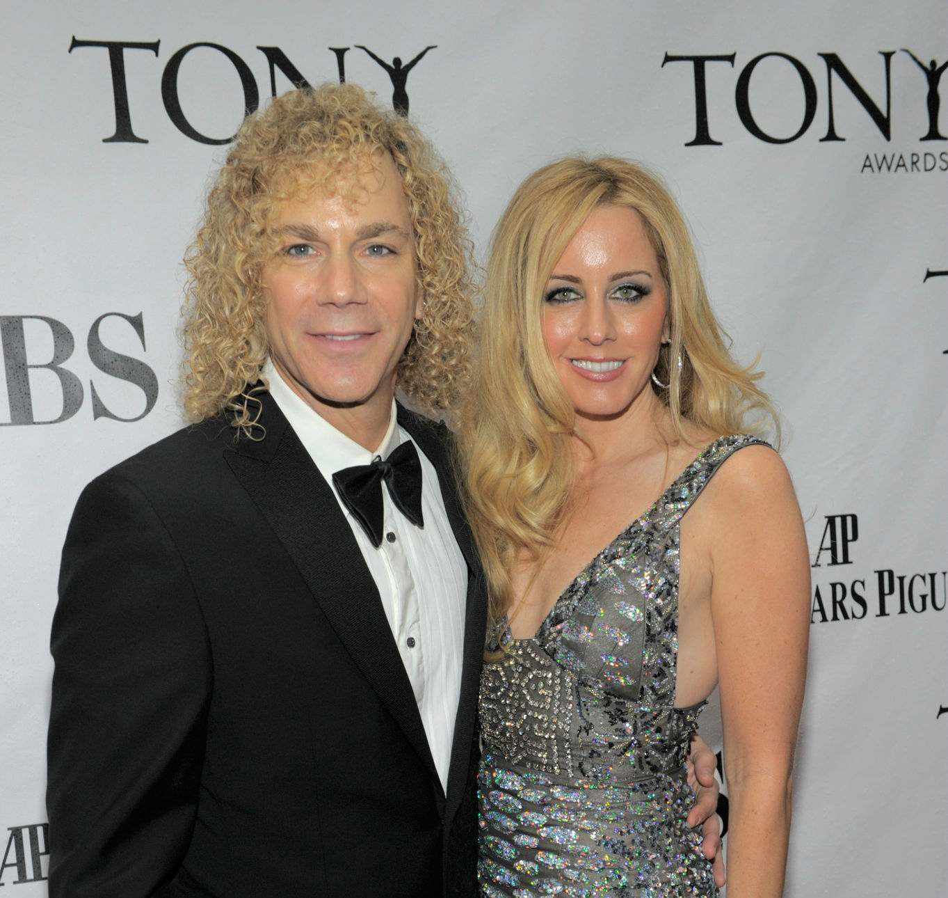 David Bryan and Lexi Quaas attend the 64th Annual Tony Awards at Radio City Music Hall on June 13, 2010 in New York City