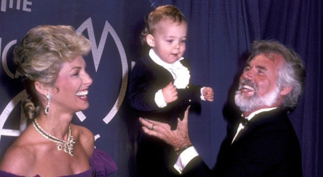 Marianne Gordon with her late husband Kenny & their son
