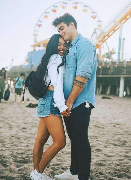 Thomas Petrou and his ex-girlfriend Kayla Pimentel