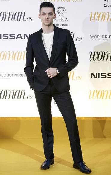 Alvaro Rico in women award 2018