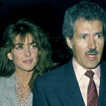 Elaine Callei Trebek with her ex-husband Alex