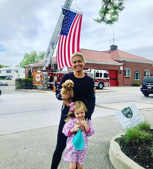 Ainsley Earhardt with her daughter Hayden